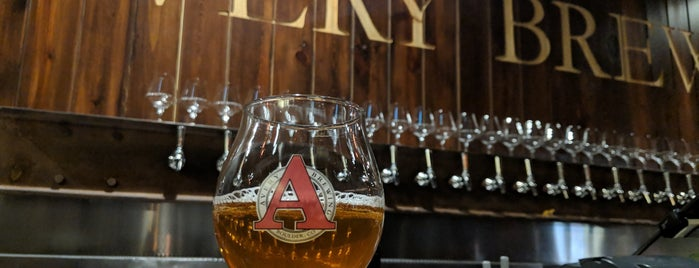 Avery Brewing Company is one of Beer / Ratebeer's Top 100 Brewers [2018].