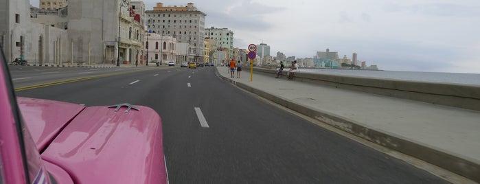 El Malecón is one of Havana Essentials.
