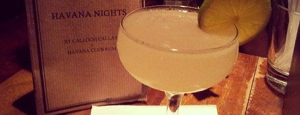 Callooh Callay is one of The World's 50 Best Bars.