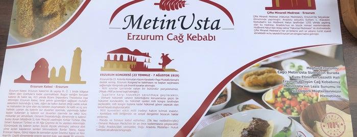 Metin Usta Erzurum Cağ Kebabı is one of Ankara da yemek.