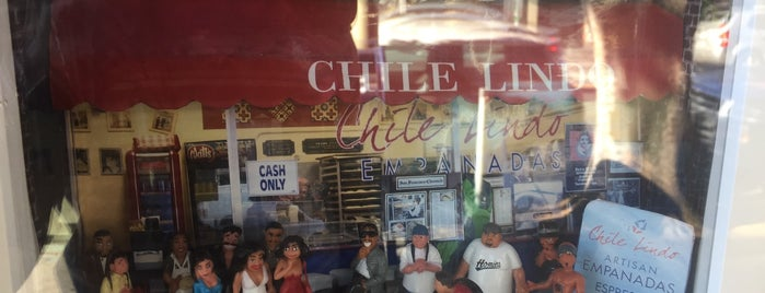 Chile Lindo Empanadas is one of The San Franciscans: Mission.