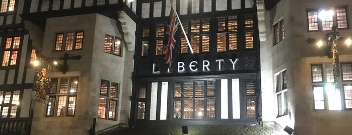 Liberty of London is one of london list.