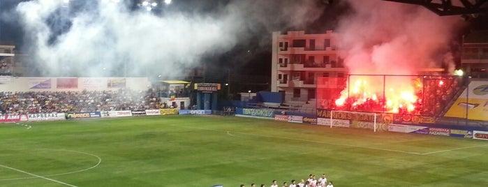 Γήπεδο Παναιτωλικού is one of AngelOFFkaさんの保存済みスポット.