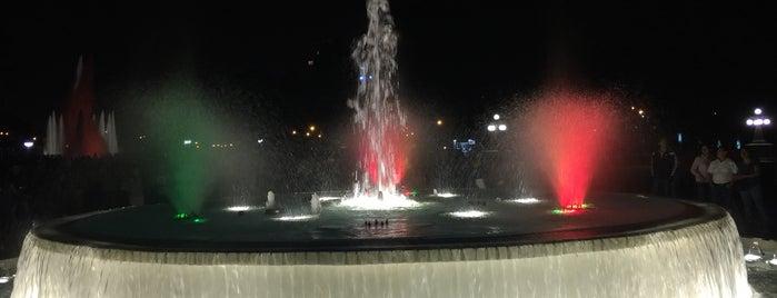 Circuito Mágico del Agua - Parque de la Reserva is one of Jay : понравившиеся места.