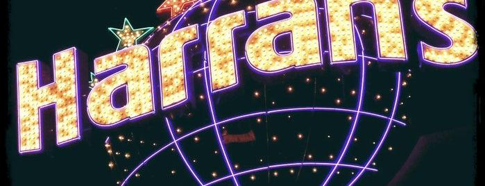 Harrah's Hotel & Casino is one of Vegas.