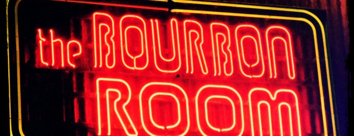 The Bourbon Room is one of Vegas.