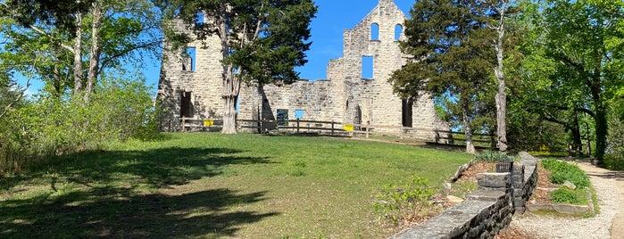 Ha Ha Tonka Castle is one of St. Louis & MO.