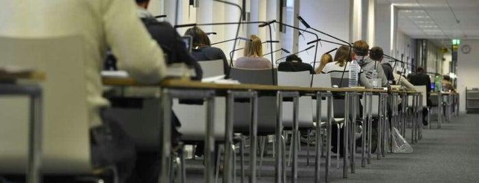 Die Bibliothek Wirtschaft & Management is one of Germany.