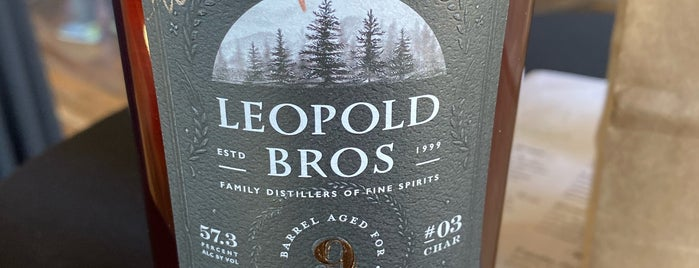 Leopold Bros. is one of Winter Warmer 2016.