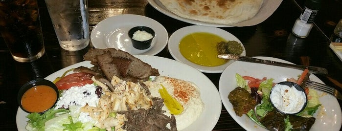 Pasha Mediterranean Grill is one of North Central.