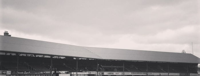Dens Park Stadium is one of Part 1~International Sporting Venues....