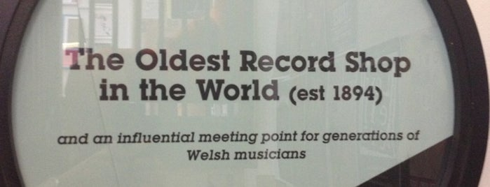 Spillers Records is one of worldwide record stores..