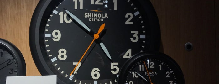 Shinola is one of NYC Best Shops.