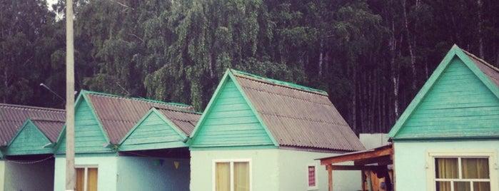 """База Отдыха """"Солнышко"""" is one of Lieux sauvegardés par Дарья."""