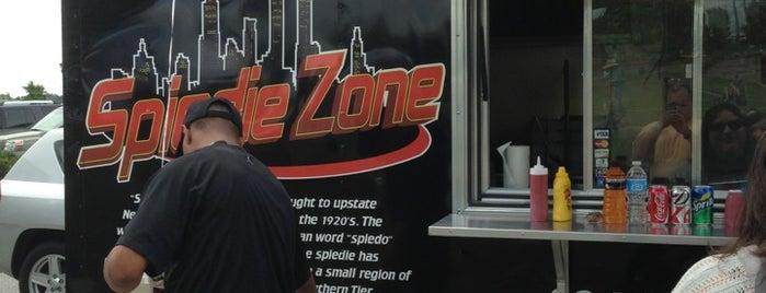 Spiedie Zone is one of Food Truck.