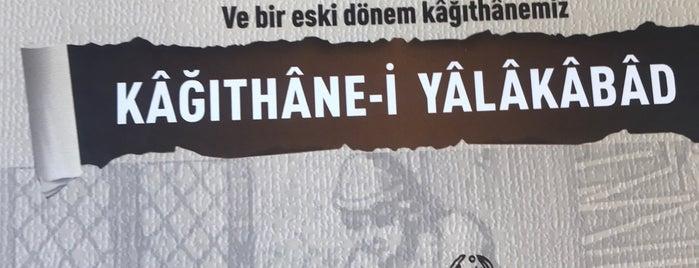 İbrahim Müteferrika Kağıt Müzesi is one of สถานที่ที่ Resul ถูกใจ.