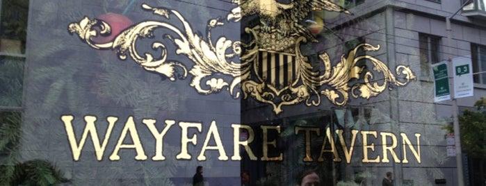 Wayfare Tavern is one of FiDi.