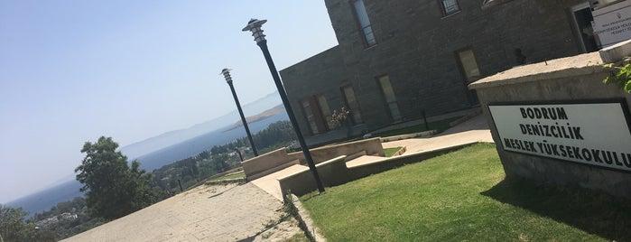 Bodrum Denizcilik Meslek Yüksekokulu is one of Posti che sono piaciuti a ARGIE.
