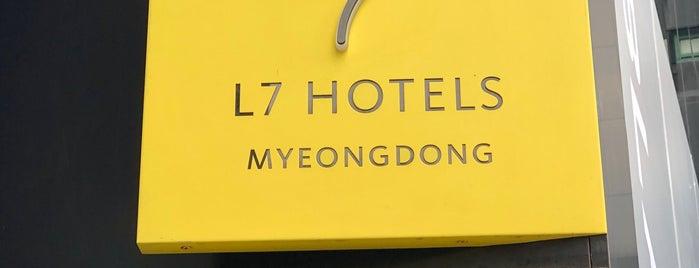 L7 HOTEL is one of Locais curtidos por Edmund.