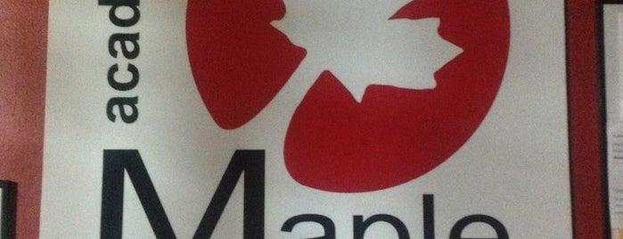 Maple is one of Orte, die Lau 👸🏼 gefallen.