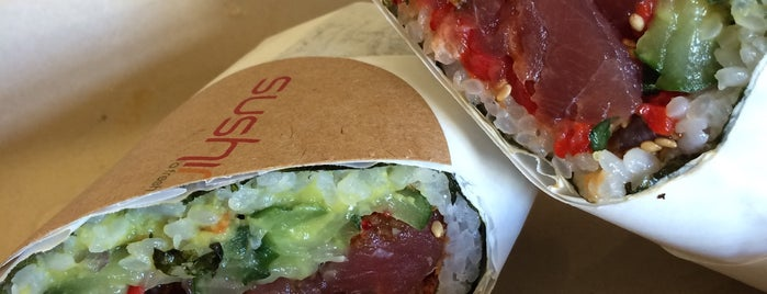 Sushirrito is one of Begrudgingly into SF.