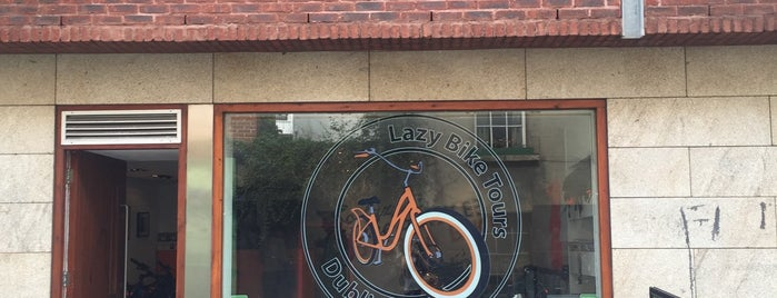 The Lazy Bike Tour Company is one of Dublin is dope.