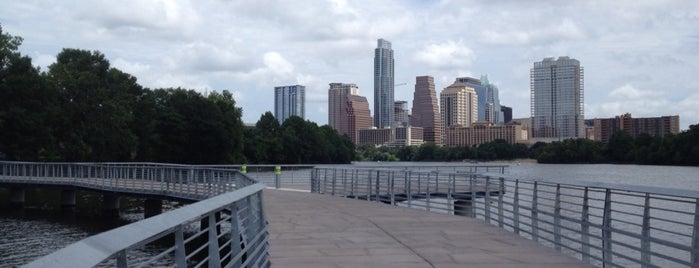 Lady Bird Lake Boardwalk Trail is one of places to try.