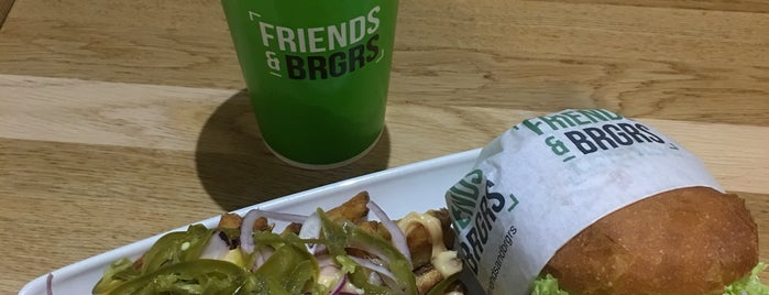 Friends & Brgrs Copenhagen is one of Locais curtidos por Natalie.