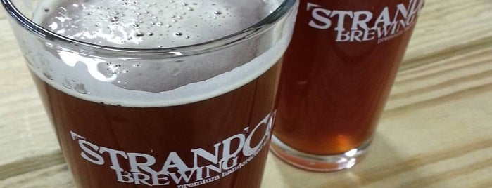 Strand Brewing is one of Los Angeles + SoCal Breweries.