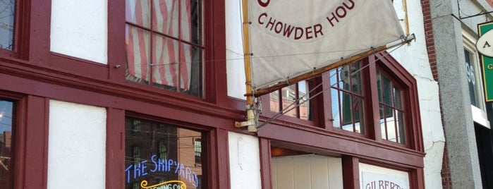 Gilbert's Chowder House is one of Tempat yang Disukai Cusp25.