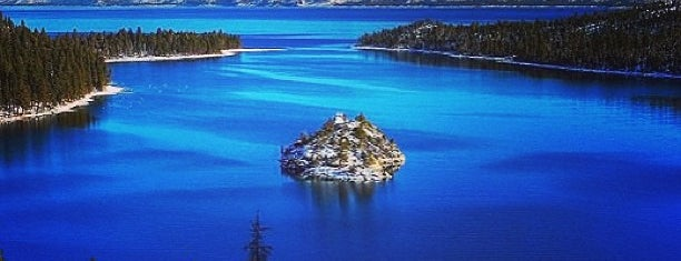 Emerald Bay State Park is one of Tahoe.