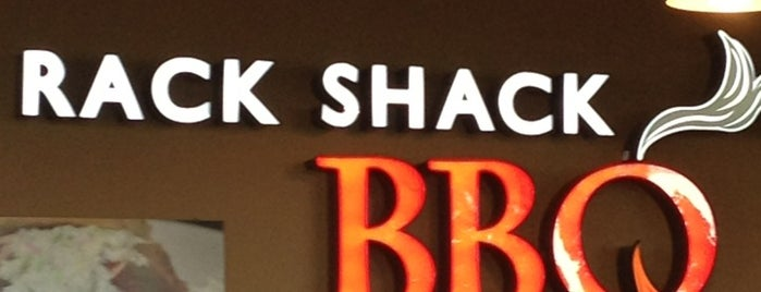 Rack Shack BBQ is one of MvF.