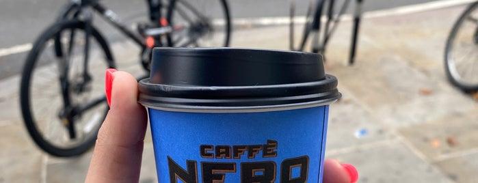Caffè Nero is one of London, UK 🇬🇧.