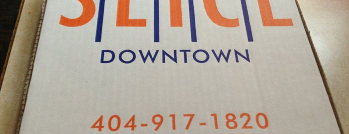 Slice Downtown is one of Must-visit Pizza Places in Atlanta.