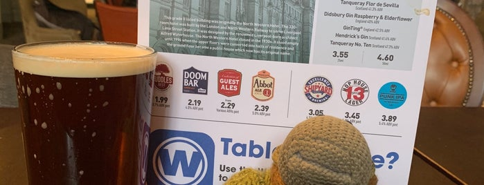 The North Western (Wetherspoon) is one of Locais curtidos por Carl.