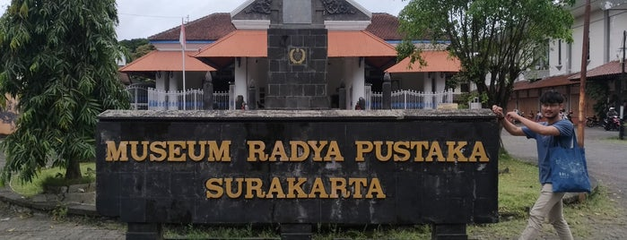 Museum Radya Pustaka is one of Museum In Indonesia.