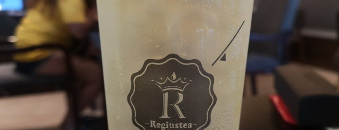 Regiustea (皇茶) is one of Lugares favoritos de Eric.