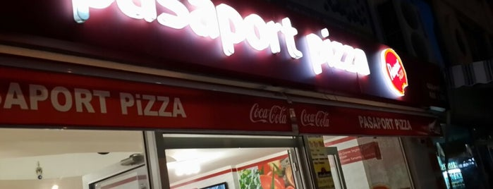 Pasaport Pizza is one of Yeme/İçme.
