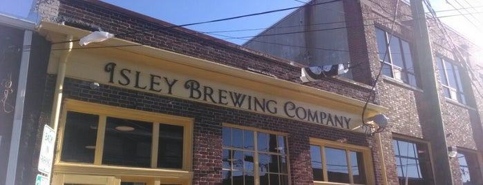 Isley Brewing Company is one of Breweries or Bust 3.