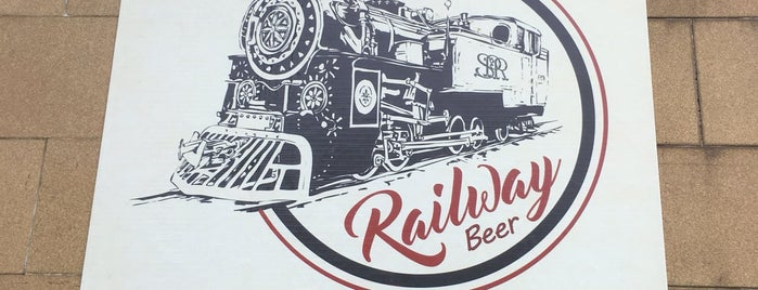 Railway Beer is one of Locais curtidos por Ademir.