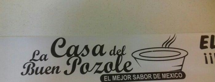 la casa del buen pozole is one of Comida.