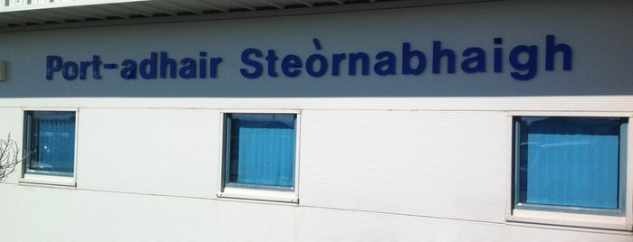 Stornoway Airport (SYY) is one of Fly me to the moon.