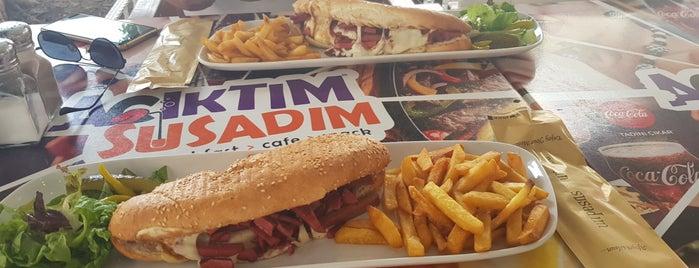Susadım Acıktım Cafe is one of Orte, die Gülin gefallen.