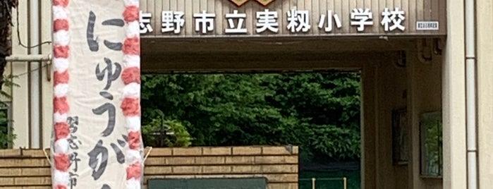 習志野市立 実籾小学校 is one of 自分が作成したVENUE.