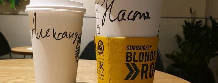 Starbucks is one of Pavel : понравившиеся места.
