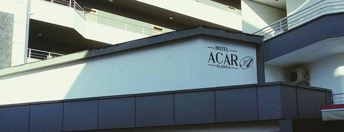 Acar Hotel is one of Turkiye Hotels.