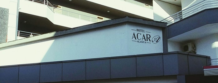 Acar Hotel is one of Alanya Otelleri.