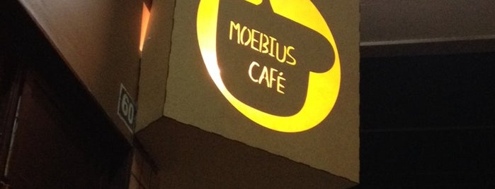 Moebius Café is one of DF_cafés.