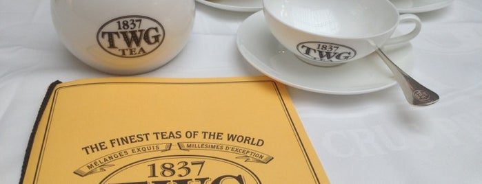 TWG Tea Salon & Boutique is one of Singapore: business while travelling.
