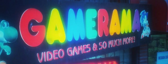 Gamerama Video Games is one of Shopping.